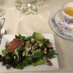 Red Wine Poached Pear Salad