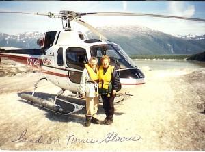 Grandma & Dolores in Alaska